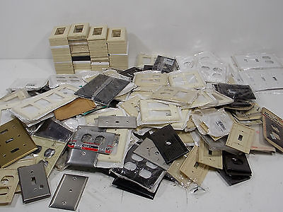 Lot Of 275+ New Old Stock Wall Plates Switch Covers Leviton Sierra More Gfci