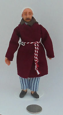 12th Scale Victorian Edwardian Man Doll for Dolls' House P