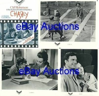 CHARLY - Cliff Robertson, Claire Bloom, Dick Van Patten