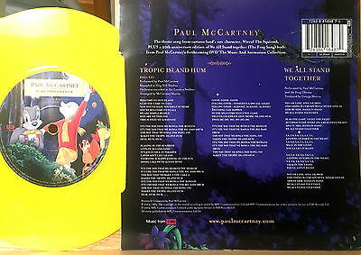 "PAUL McCARTNEY TROPIC ISLAND HUM / WE ALL STAND TOGETHER SG 7"" LTD YELLOW VINYL"