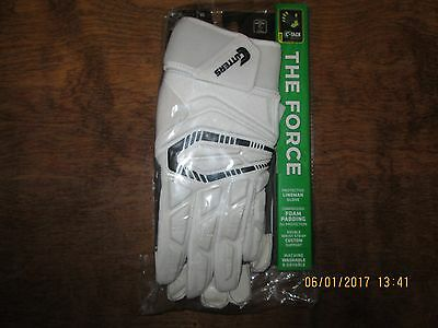 Cutters S930 The Force Lineman White Adult XL Football Gloves