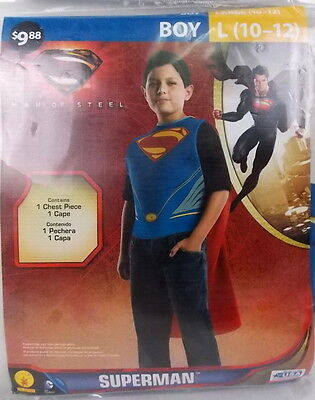 Rubies Superman Halloween Costume Size L (10-12) #H84