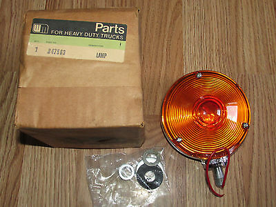 Vintage New NOS WM White Motors CYCLOSTAT II Lamp Signal Stat 3800 Red Amber