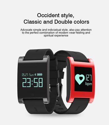 Smart Bracelet Watch Heart Rate Blood Pressure Sleep Monitor Pedometer Fitbit