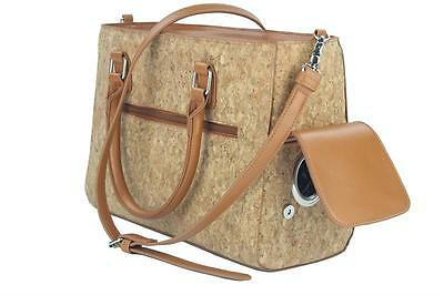 Prime Ware wine Drink Purse with Spout cork material new!