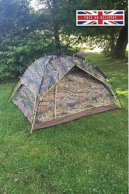 Instant tent Dome tent, Hunting tent, Fishing tent, Hiking Camping, 4 Man Tent