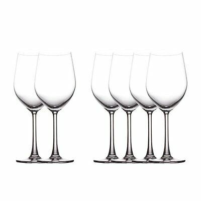 NEW Maxwell & Williams Cosmopolitan Red Wine Glass 425ml Set of 6 (RRP $50)
