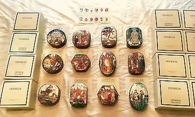 Russian Fairy Tail Ceramic Boxes Limited Edition Heinrich Villeroy & Boch set 12