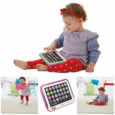 Baby Tablet Educational Toy Toddler Learning Kid Activity For 1 2 Year Olds Pink