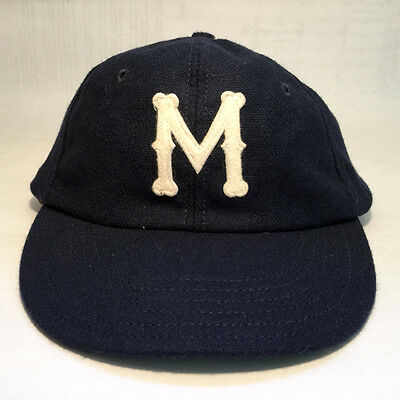 Rare Vintage 1946 Montreal Royals Home Cooperstown Ball Cap Company 7 1/4