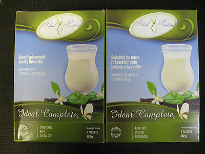 Ideal Protein Meal Replacement Vanilla Drink Mix ( 2 Boxes Of 7)