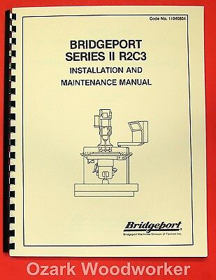 BRIDGEPORT Series 2 R2C3 CNC Mill Maintenance Manual 0078