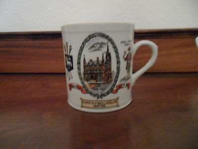 Vintage 1922 Preston Guild Mug H Astley-Bell Mayor