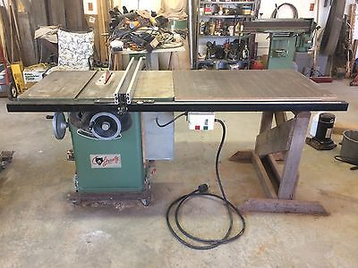 """Grizzly 10"""" Table Saw with 50"""" extension table"""