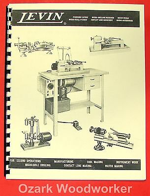 LEVIN Precision Watchmaker Lathes and Drills Catalog 0433