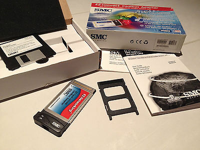 Carte PCMCIA 32 bits 10/100 Mbs EZ connect cards adapter SMC Network