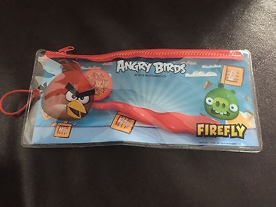 Kids Official Angry Birds Dental Travel Toothbrush & Case Kit