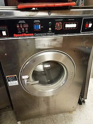 Speed Queen Commercial Front Load Washer  35LB 1PH SC35MN2LU10001
