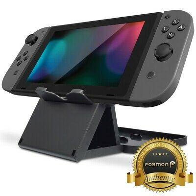 Fosmon Adjustable Multi Angle Foldable Holder Dock Stand for Nintendo Switch