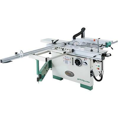 """G0820 Grizzly 12"""" Compact Sliding Table Saw"""