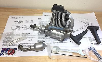 YS F-120 SUPER CHARGED MODEL ENGINE with Muffler New