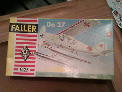 Faller 1:100 / HO   Dornier  Do-27   Mitte der 60er Jahre  Made in Austria