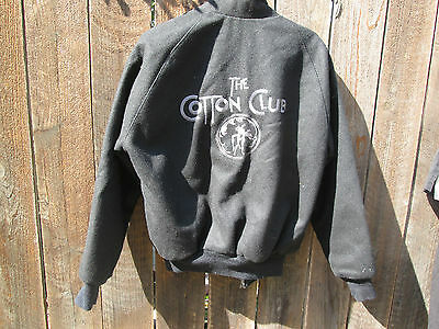 THE COTTON CLUB Robert Evans Vintage Film Crew Jacket  DIANE LANE RICHARD GERE