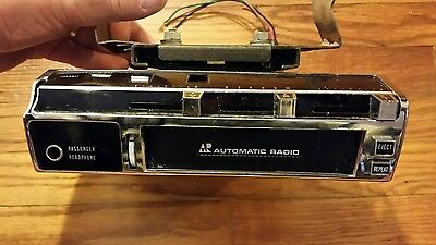 Automotive Automatic Radio car 8 Track Player Model SPC5002 & mounting bracket
