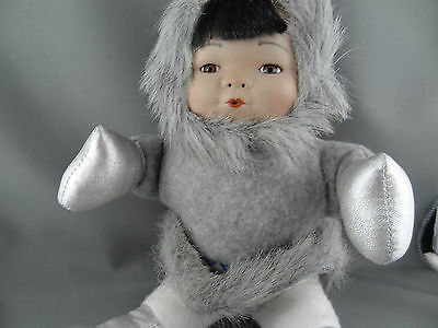 FTD Collectors Series Eskimo with porcelain face