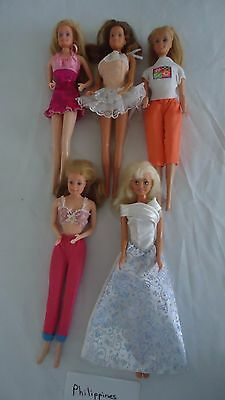 Barbie doll  lot with clothes  dolls Philippines