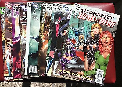 Brightest Day Birds Of Prey #1-13 (2010 Dc) Nm 1St White Canary