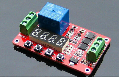 New Arrival FRM01 Multifunction Self-lock Relay Cycle Timer Module PLC Delay 12V