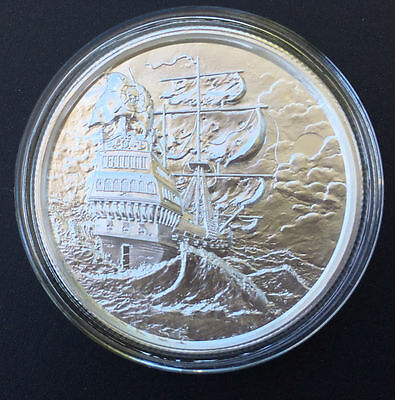 """2 oz Privateer Ultra High Relief .999 Fine Silver 1st Series, Series """"The Storm"""""""