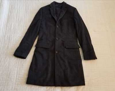 New Mens J Crew Ludlow Topcoat In Italian Wool Cashmere Thinsulate Coat Charcoal