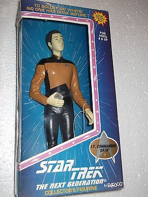 1996 Enesco Star Trek Next Generation - Lt. Commander Data 9 inch Action Figure