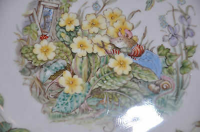 Gorgeous Brambly Hedge 'Spring' Plate by Royal Doulton