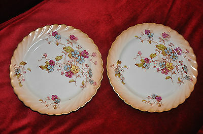 Two SF & Co Blush Ware Side Plates