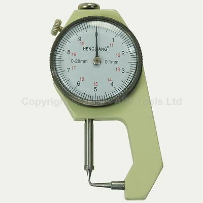 40141202 Pocket Pin Type Thickness Special Measuring Gauge Caliper 0-20mm