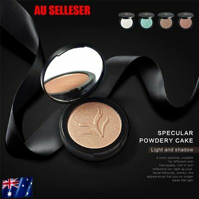 Facial Makeup Cosmetic Tool Face Powder Women Natural Highlighter Powder O5