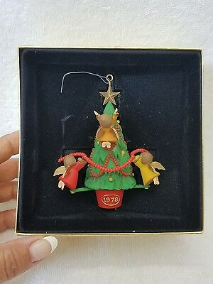 1978 Hallmark Angels Christmas Tree Trimmer Twirl About Ornament - IN BOX