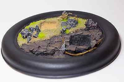 Painted Show off Diorama Terrain Warhammer For 20mm base. Fantasy RPG Roleplay