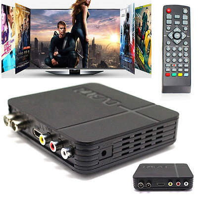 HD 1080P Digital Terrestrial Receiver DVB-T2 H.264 Satellite Video Set Top Box