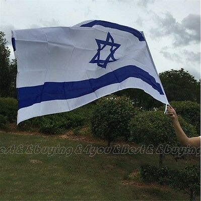 90x150cm Israel National Flag Jewish Star Magen David Israeli Country Banner TP