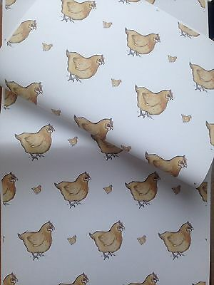 Chicken,wrapping Paper, Gift Wrap, For Chicken Lovers ,read Details