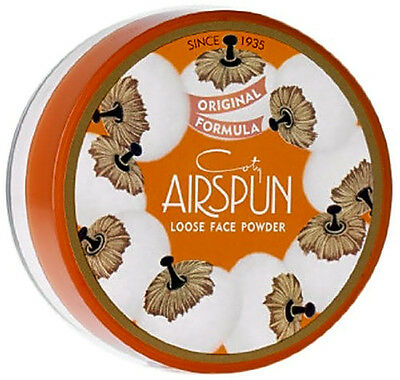 COTY Airspun Loose Face Powder Translucent Extra Coverage For Setting Makeup New