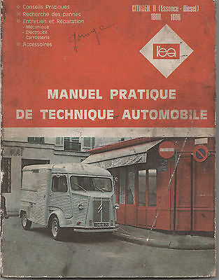 Citroen H (Essence-Diesel) Manuel Pratique De Technique Automobile