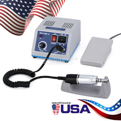 Dental Electric Micromotor  polisher motor Unit N3+35K RPM E Type Handpiece top
