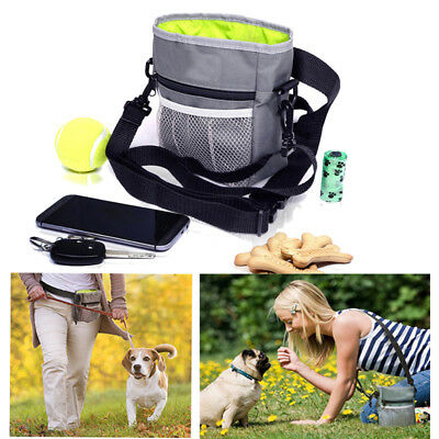 Pet Dog Puppy Snack Obedient Agility Bait Training Food Treat Bag Waist Pouch