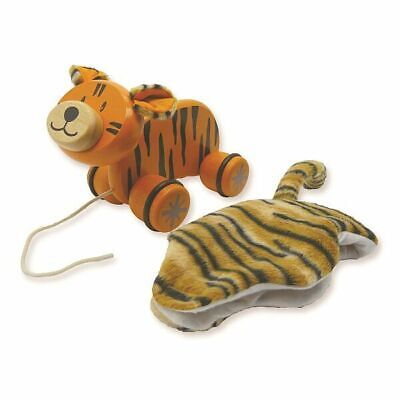 Paddie Pull Along Pet - TIGGER - I'm Toy brand, from Eco sustainable rubber wood