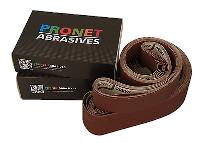 50mm x 1525mm Aluminium Oxide Abrasive Belts (Pack of 10) All Grits Available!